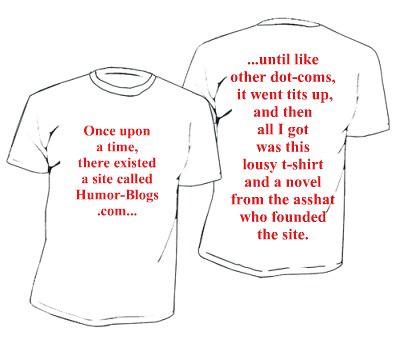 Humor-Blogs.com t-shirt