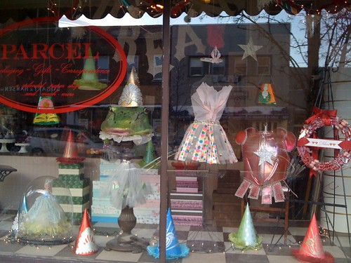 Parcel Shop Window, February 2010