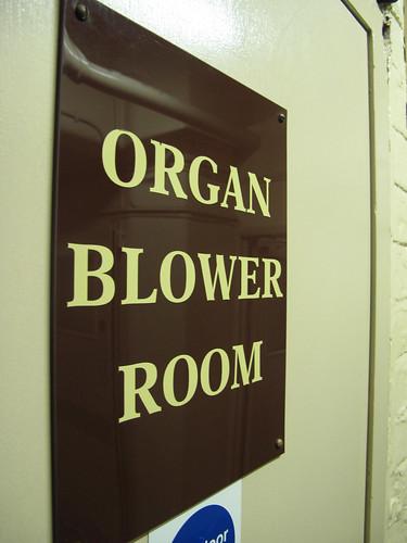 Organ Blower Room