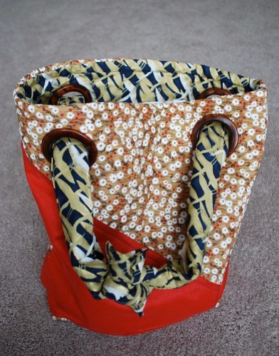 New Bag Made at Sewing Class on Sunday - 01