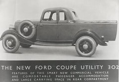 1934 Ford Coupe Utility (Aus)