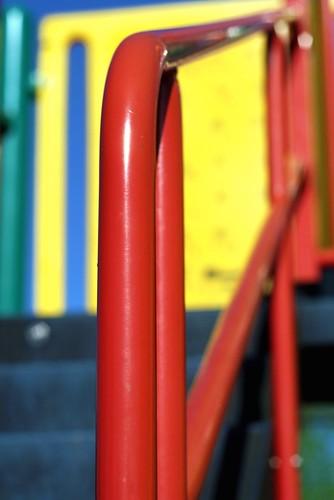 scarlet railing