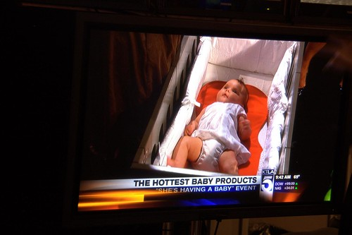 Annie on the KTLA Morning News