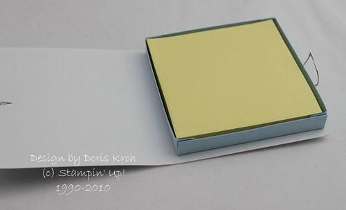 Post-it-Block Verpackung