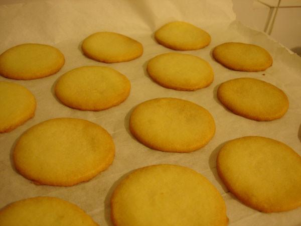 Baked alfajores