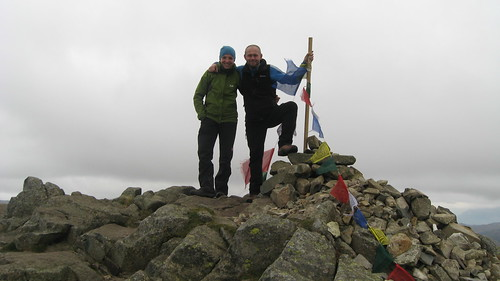 On the summit of Pike O'Stickle