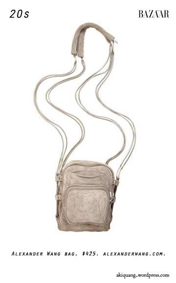 Alexander Wang bag, $425. alexanderwang.com.