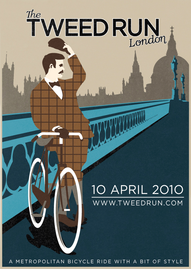 The Tweed Run Poster