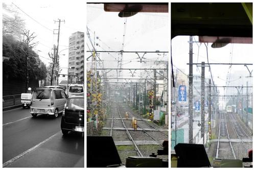 tokyo tram sights