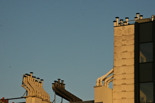 Paris chimneys