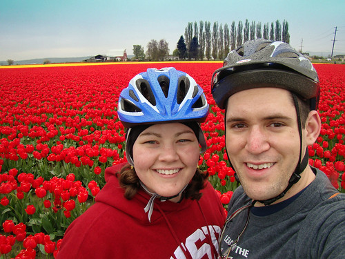In Front of the Tulip Fields