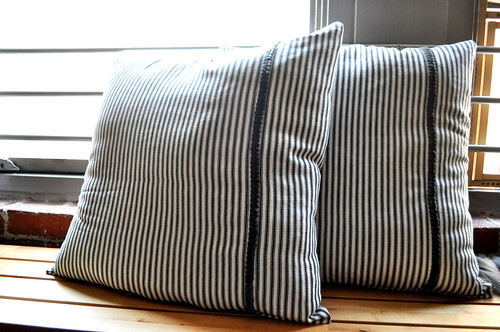 Striped Pillowss