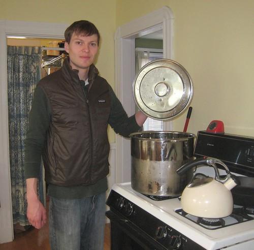 Brewing Pot!