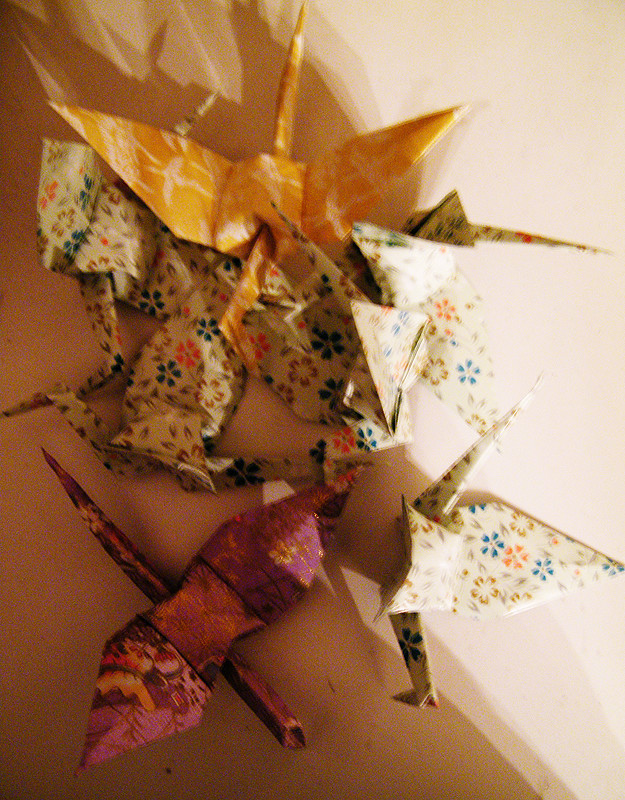 DAY FIVE: Origami, Part 1 of Many