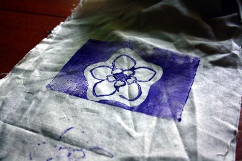 Lino on Fabric