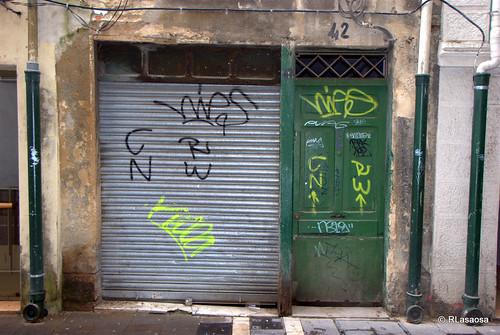 Local abandonado en la calle San Gregorio