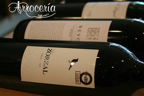 Zorzal Graciano 07 - Excelente varietal de graciano, carnoso,  para tomar con arroces contundentes.