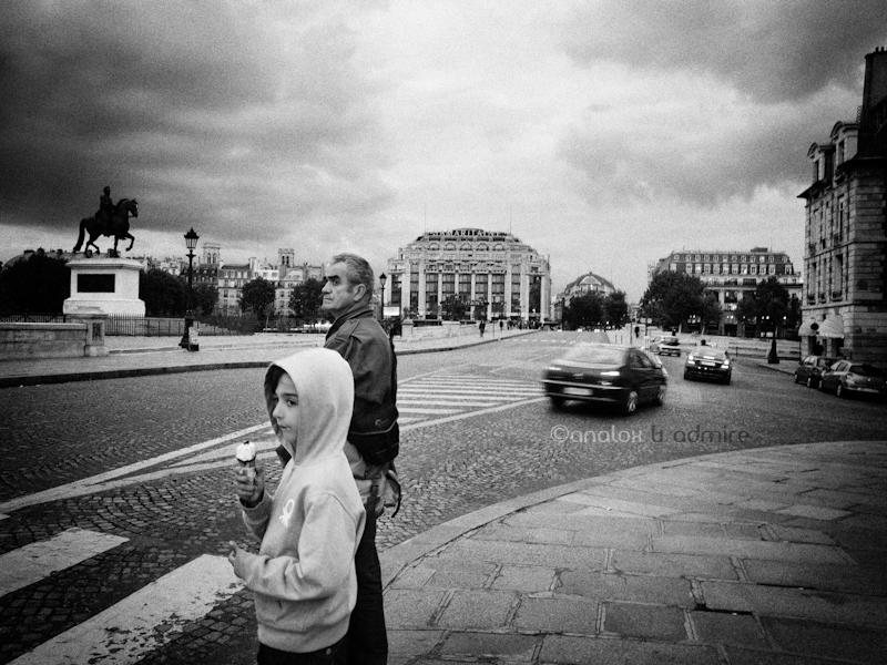 At a crossroad in Paris