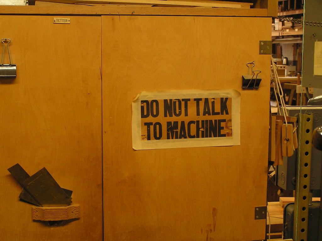 Do not talk to machines, Austin Organs