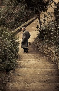 Espía en Parc Güell