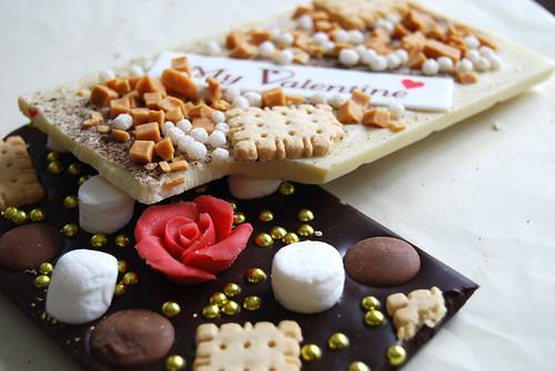 White and DarkChocolate