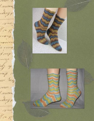 Medium Sock Patterns