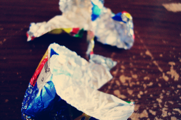 cadbury consumption, step 5