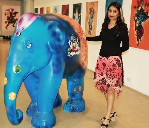 Mythili and Elephant