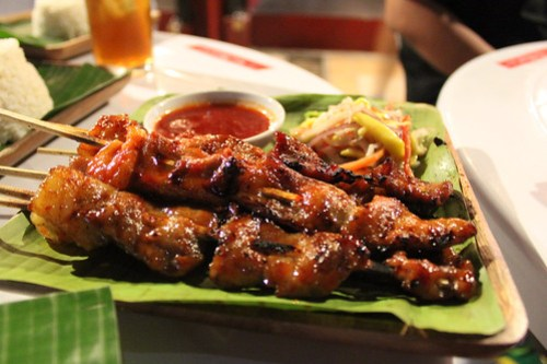 Pork Barbeque at Obsidian Bar and Grill
