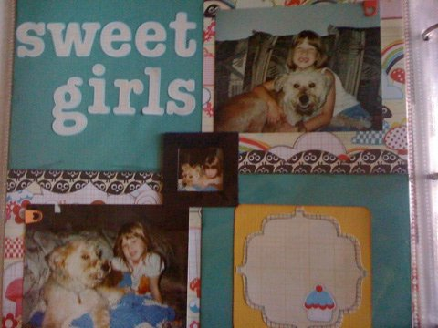 sweet girls scrapbook