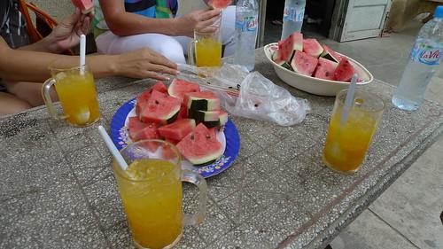 watermelon and fruit juice in viet nam