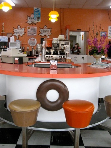 Maple Donuts Counter