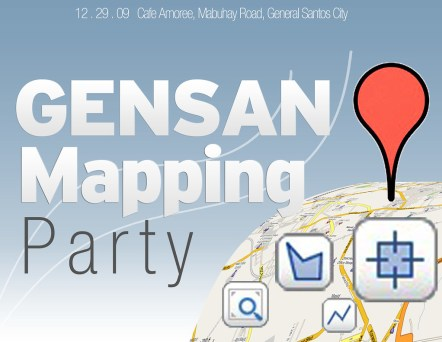 Google Mapping Party for GenSan at Cafe Amoree – GenSan News Online Mag