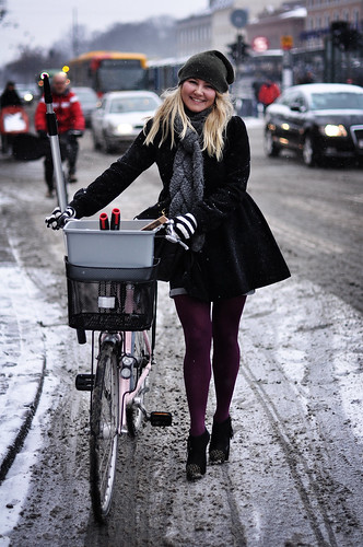 Copenhagen Winter Cycle Chic