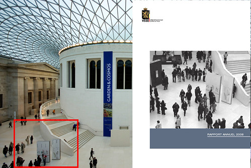 The British Museum as illustration for a Security report