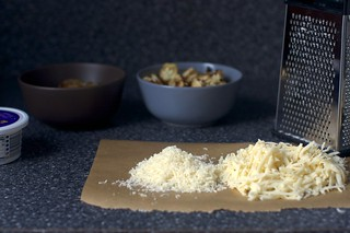 parmesan and gruyere