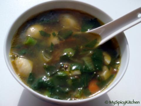Lentils & Vegetable Soup