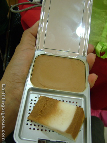 The Body Shop cake foundation
