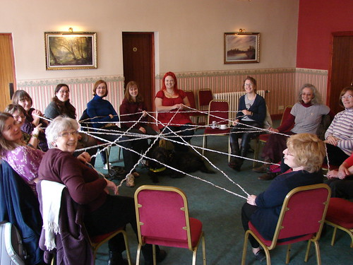 The finished web of names and stories