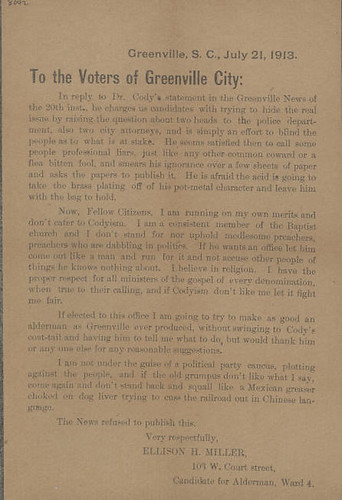1913_Broadside_Greenville_Voters