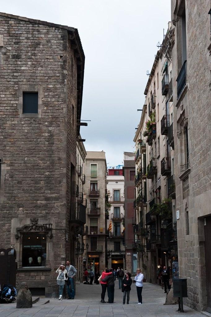 Going around Barcelona