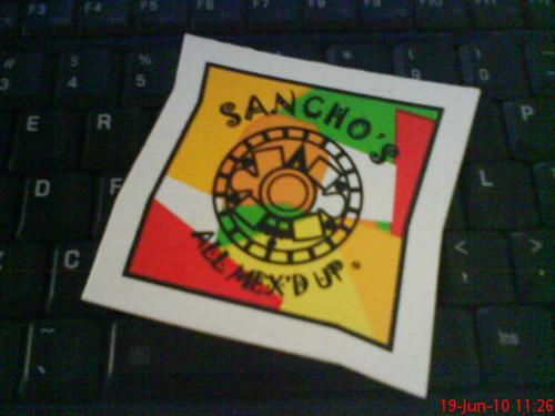 Sancho's coaster
