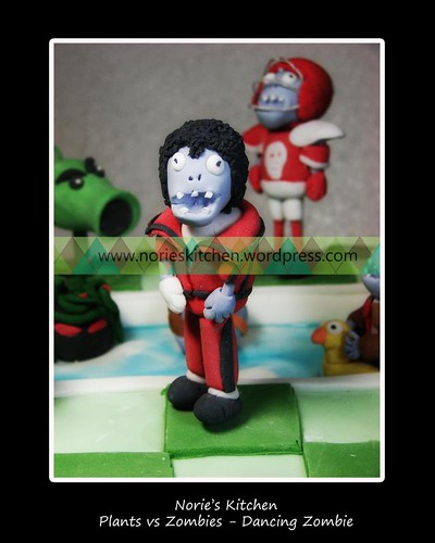 Norie's Kitchen - Plants vs Zombies Cake - Dancing Zombie