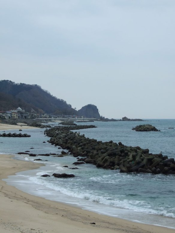 The sea by Kuwagawa Port