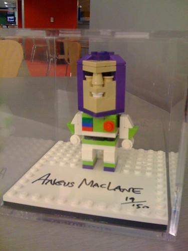 LEGO Pixar Toy Story 3 Buzz Lightyear CubeDude