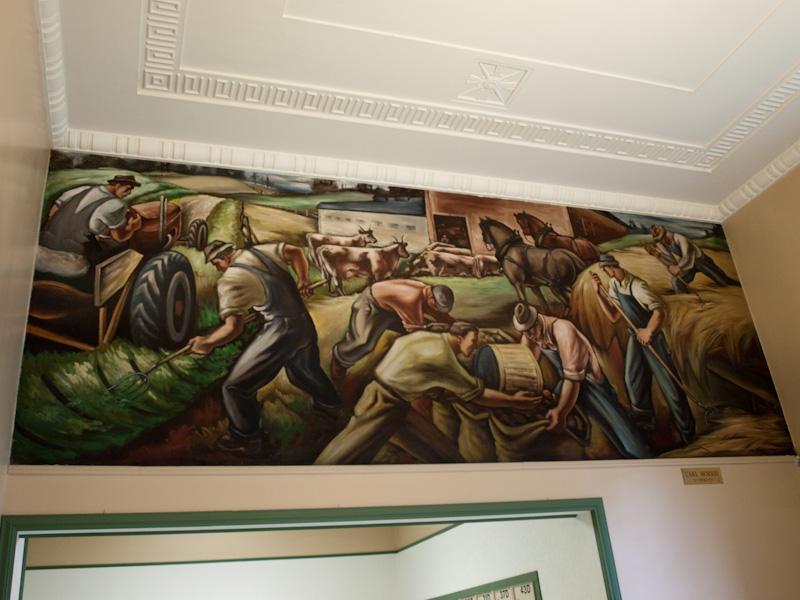Carl Morris Mural