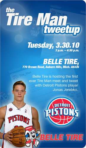 Belle Tire - Detroit Pistons