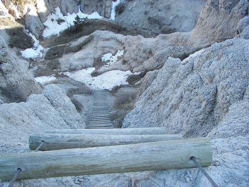 Wood Ladder, Notch Trail