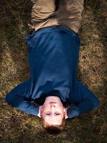 Demetris on Grass