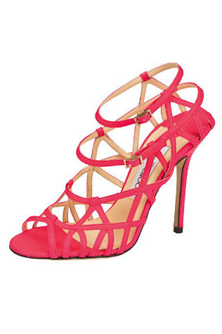 Jimmy Choo sandals, $1,300.